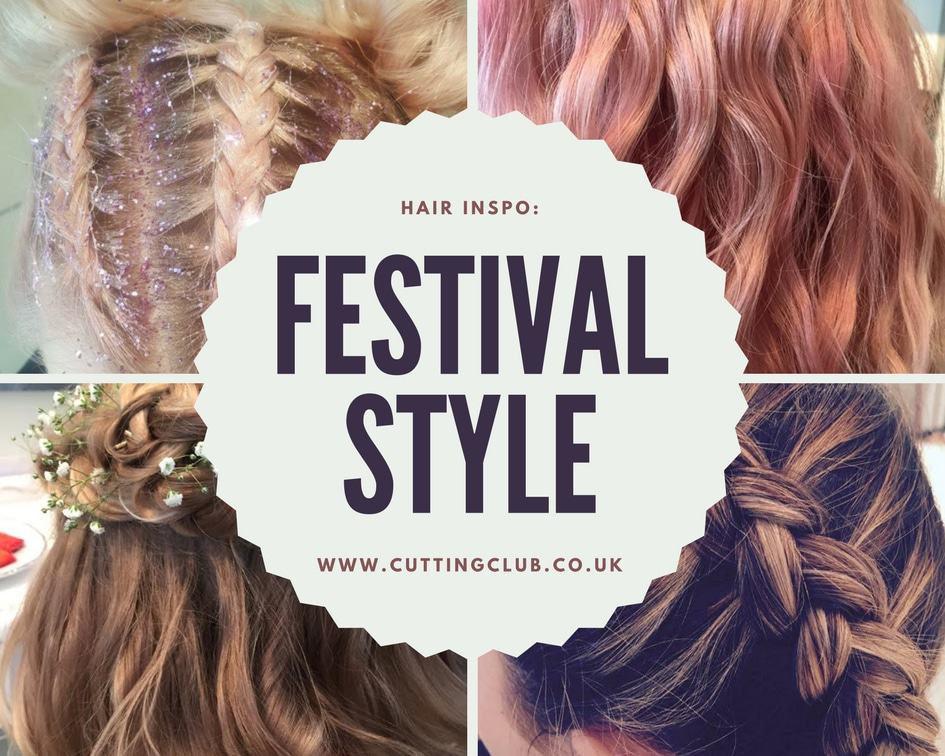 Cutting Club Festival Hair Promo Banner