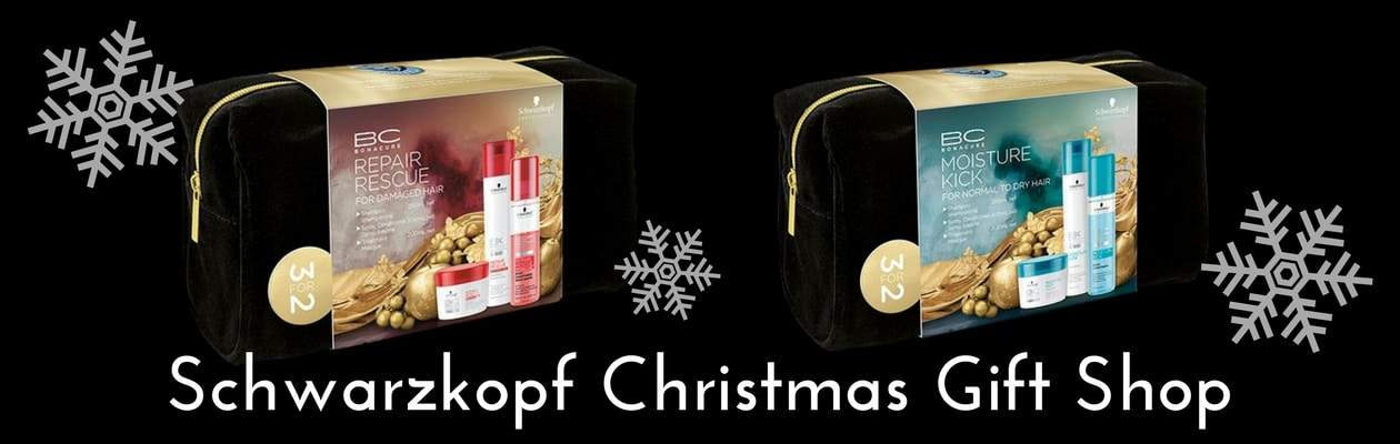 Schwarzkopf Chistmas Gift Hampers - Repair Rescue and Moisture Kick