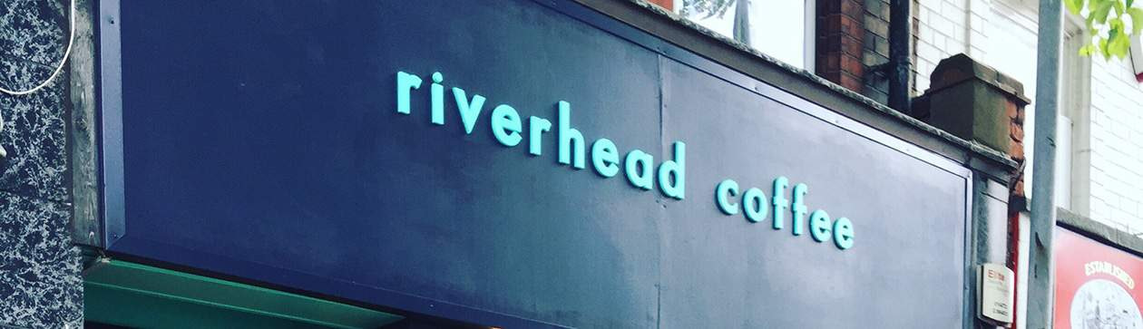 Riverhead Coffee Shop Banner for Cutting Club Raffle alternate