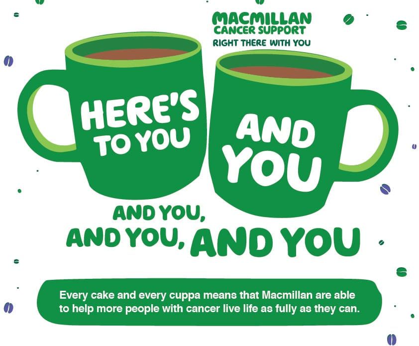 Macmillan Coffee Morning Thank You Image