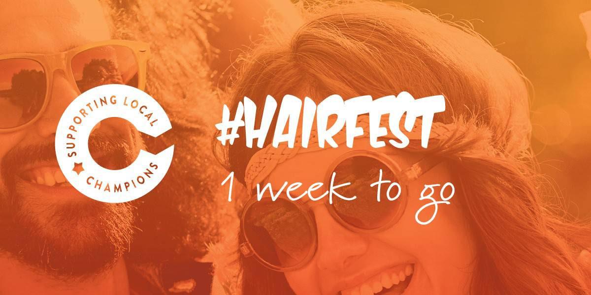 Hairfest Countdown Banner