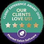 Phorest Client Experience Award 2019 Logo